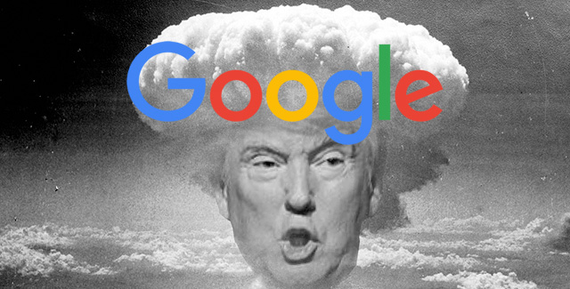 Trump Gets Googlebombed In Google Image Search  Idiot This time  it is Trump who got Googlebombed again  for the search term   idiot  in Google