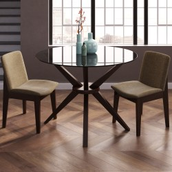 Small Of Glass Dining Room Table
