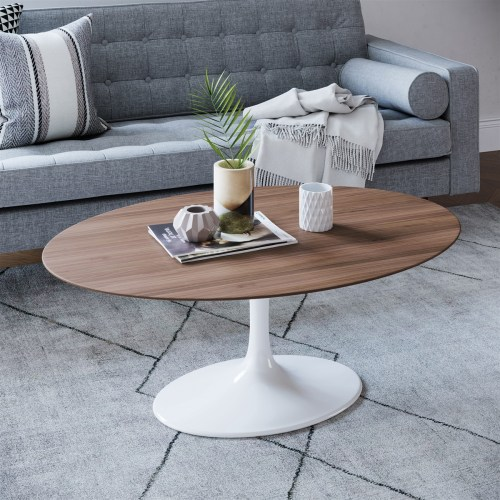 Medium Of Oval Coffee Table