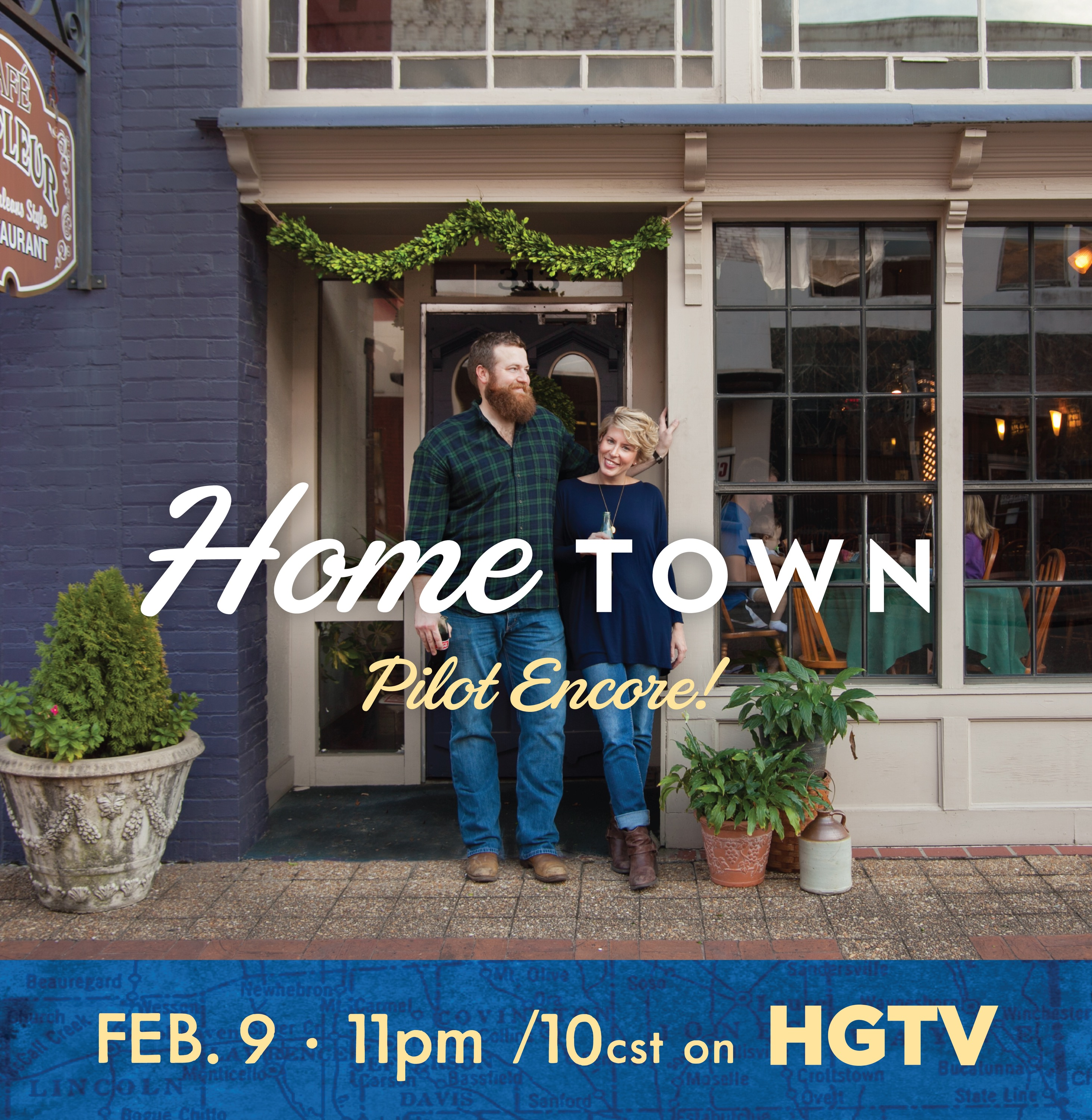Tremendous Our Friend Brittney Who Just Happenedupon It While Scrolling Tv She Was To Hgtv Home Town Encore Supper Laurel Mercantile We Never Would Have Known If Not curbed Home Town Hgtv