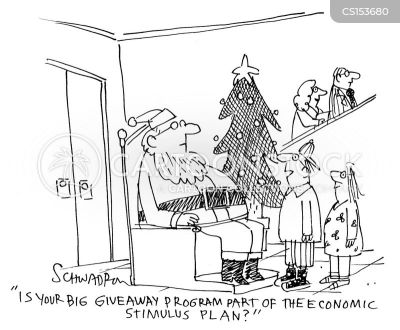 Fathre Christmas Cartoons and Comics - funny pictures from CartoonStock