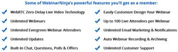 Get WebinarNinja for only $49