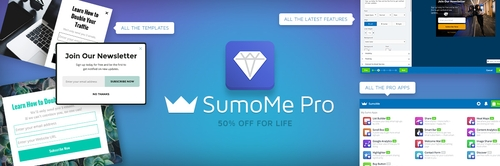 SumoMe Pro - 50% off for life before October 1st