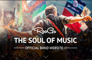 Raaga - Responsive Parallax Template for Bands