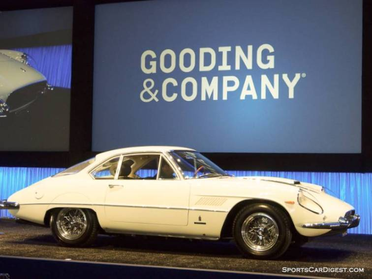 1962 Ferrari 400 Superamerica Coupe Aerodinamico, Body by Pininfarina