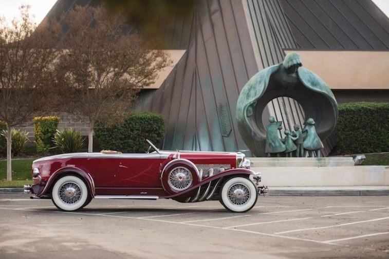 1929 Duesenberg Model J Disappearing Top Torpedo Convertible Coupe by Murphy (photo: Darin Schnabel)