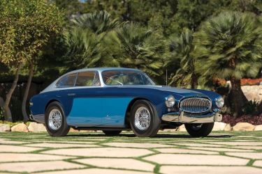 1952 Cunningham C3 Coupe by Vignale (photo: Robin Adams)