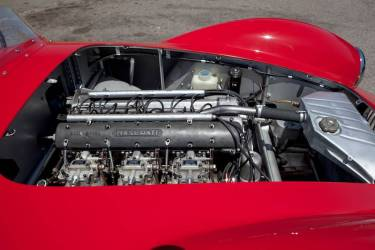 1953 Maserati A6GCS-53 Spider Engine