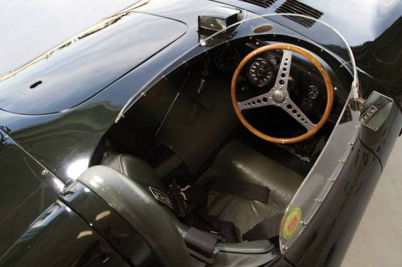 1955 Jaguar D-Type XKD530 Interior