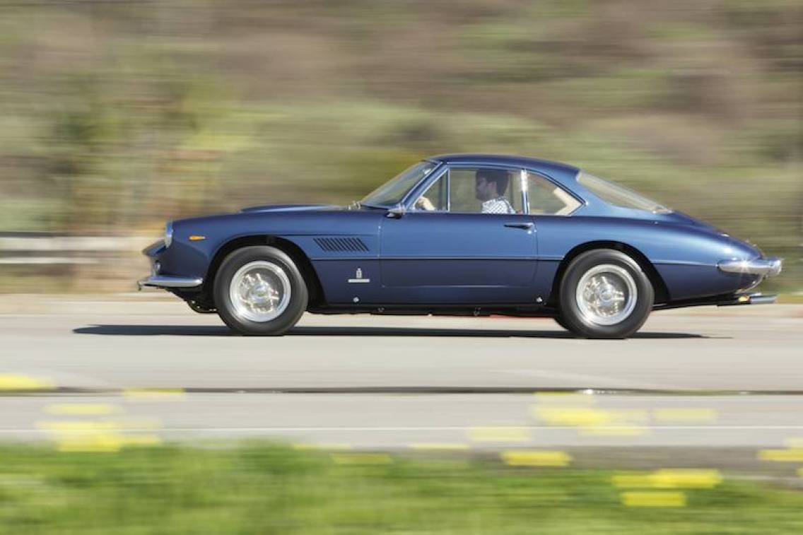 1961 Ferrari 400 Superamerica SWB Coupe Aerodinamico Side