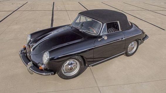 1961 Porsche 356B Convertible
