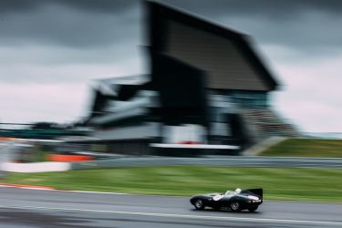 Jaguar D-Type of Gary Pearson (photo: Malcolm Griffiths)