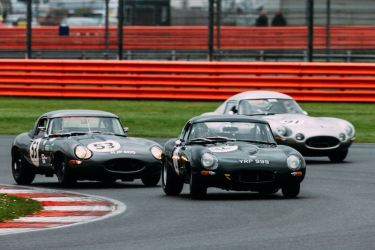 #12 Jaguar E-Type of Martin Stretton (photo: Malcolm Griffiths)
