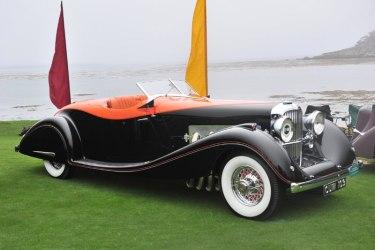 1935 Duesenberg Model J Gurney Nutting Speedster
