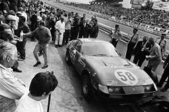 When Ferrari Daytona 12467 was entered by The North American Racing Team for the 1971 24 Hours of Le Mans and finished fifth-place overall in its maiden race, the eyes of the racing world were wide. A result such as this in the world's most grueling competition, behind only much more powerful prototype machines was a stunning, still legendary performance assumed noted by Enzo Ferrari himself. N.A.R.T. Daytona 12467 as such holds a special position in the incomparable Ferrari racing legacy and is a centerpiece of Keno Brothers Fine Automobile Auctions inaugural event, Rolling Sculpture, November 18-19, 2015 at Skylight Clarkson SQ, NYC. Auction begins Nov. 19, at 1 PM sharp. (PRNewsFoto/Keno Brothers Fine Automobile...)