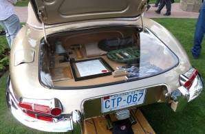 1961 Jaguar E-Type Open Two-Seater (photo: Bob Golfen)
