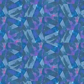 Prism Shards - blue, pink, purple wallpaper - materialsgirl - Spoonflower