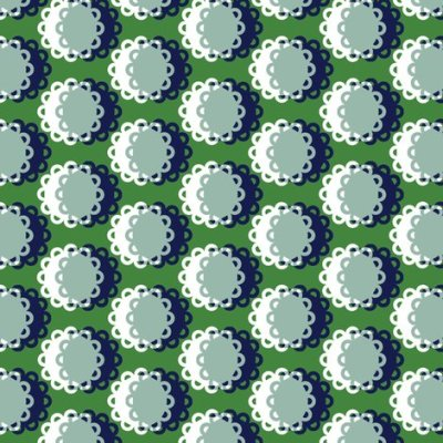 Glenview* (Dollar Bill) || doily doilies circles polka dots shadow moon flowers geometric ...
