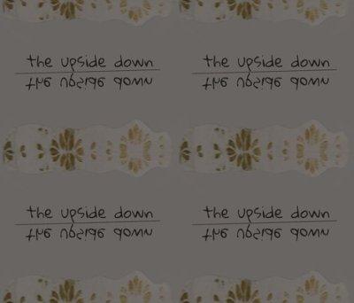 The Upside Down fabric - lilymorgan - Spoonflower