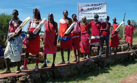The Il Polei Maasai Cricket Warriors