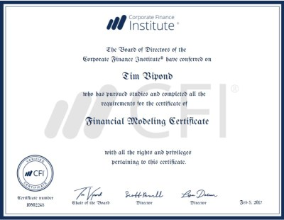 Free Finance and Accounting Certification Courses Online