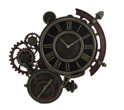 Small Of Steampunk Wall Clock