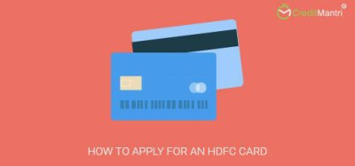 How to apply for an HDFC credit card