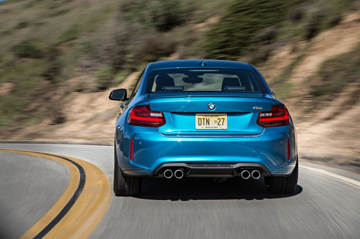 The M2's M differential, power and quick turn-in make for a great recipe for fun.