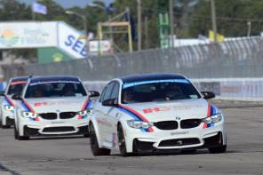 BMW Performance Driving School Hot Laps at Sebring