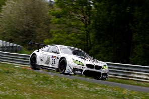 BMW M6 GT3 Goes 1-2-3 at the 'Ring for its First Win