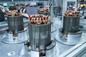 BMW Scales Up Production of Electric Motors & High Voltage Batteries