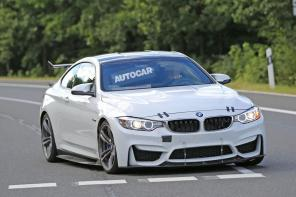 The BMW M4 GT4 Race Car Undergoes Testing Ahead of a Fall Launch