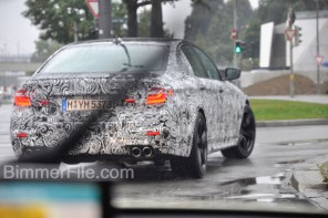 We Just Saw and Heard the 2018 M5 (F90) in Munich