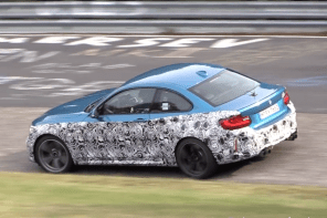 BMW M2 CS Video at the Nurburgring