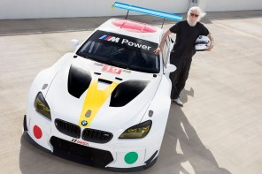 World Debut: BMW Art Car by John Baldessari
