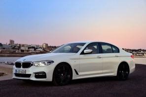 2017 BMW 5 Series Launch Gallery