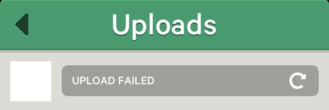 Vine Upload Failed