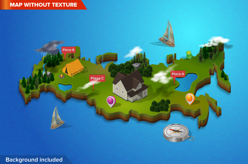 3D City and Map Generator by designhatti   GraphicRiver 3D City and Map Generator