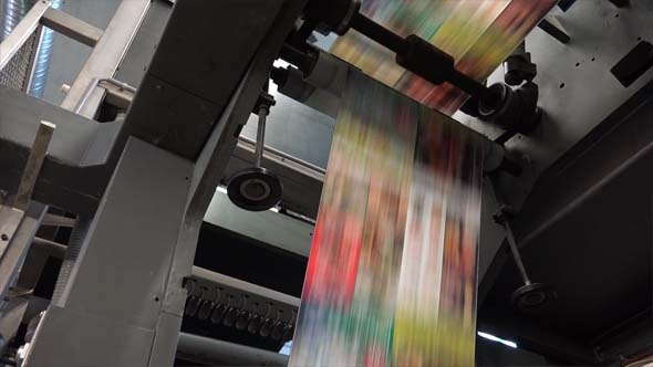 Full Color Catalog and Brochure Printing by Duksi   VideoHive Play preview video