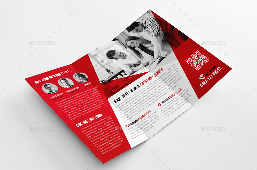 Go Creative Trifold Brochure by Snowboy   GraphicRiver Go Creative Trifold Brochure   Corporate Brochures  preview 01 jpg