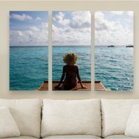Canvas on Demand Triptych PhotoSplit from $59 Shipped (Save 80%)