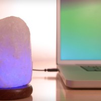 Vermont Lifestyle Himalayan-Salt Lamp $15 (Save 50%)