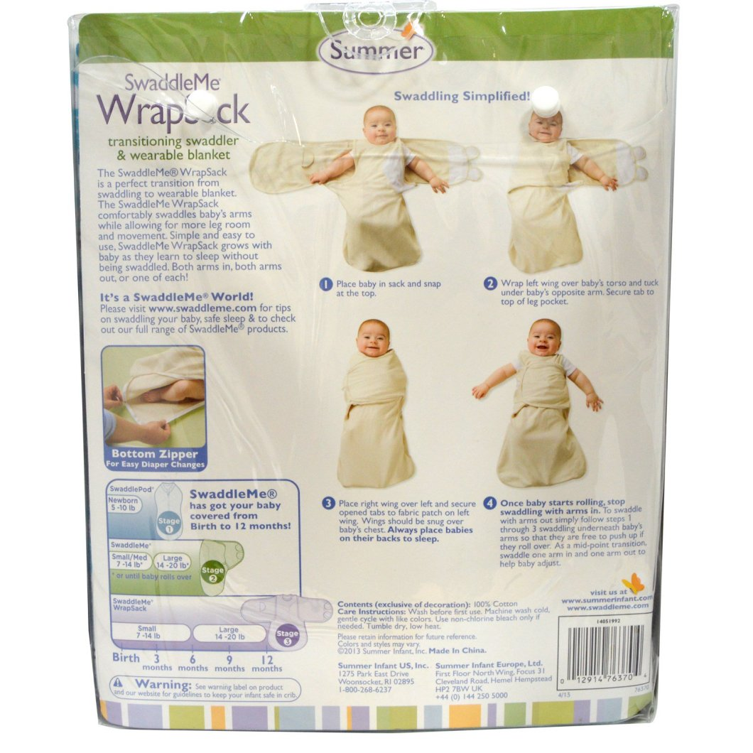 Summer Swaddle Instructions Find Your World