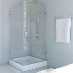 Small Of Frameless Pivot Shower Door