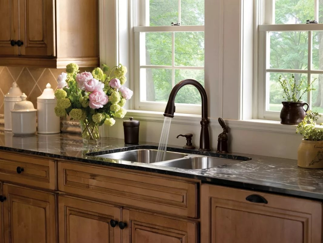 f bronze kitchen faucet Alternate