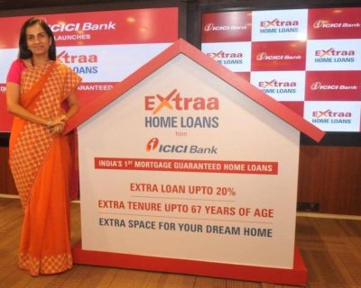 Chanda Kochhar unveils 'ICICI Bank Extraa Home Loans' with mortgage guarantee - India.com