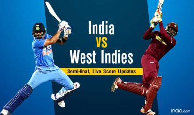 India vs West Indies Cricket Live Score, Mumbai Updates: WI 196/3 in 19.4 Overs (Target 193 ...