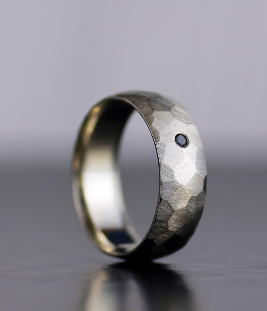 black gold rings black gold wedding band The Triforce Black Sterling Silver Inspired Zelda Wedding Band