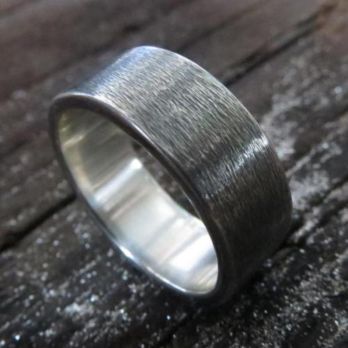 mens wood wedding band with metal inlay unique mens wedding rings MEN S WOOD WEDDING BAND WITH METAL INLAY available in titanium silver or gold STAGHEAD DESIGNS