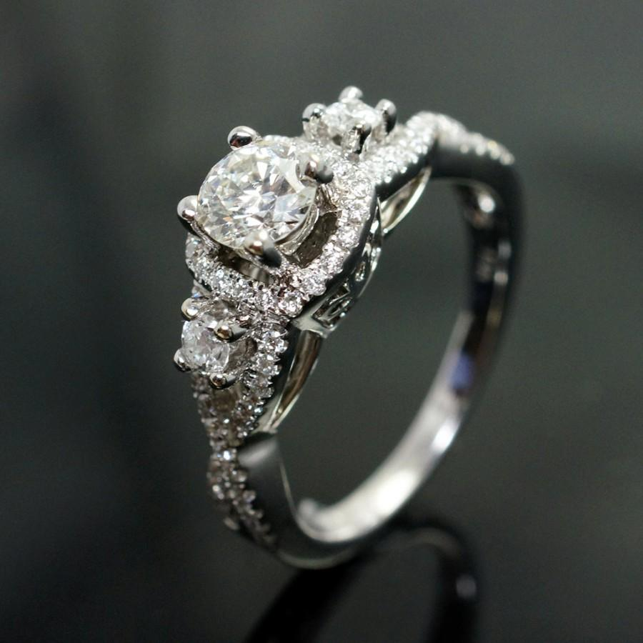 bees with thin micropave e ring shanks what kind of wedding band do you have micro pave wedding band IMG